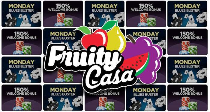 fruity casa monday blues buster bonus