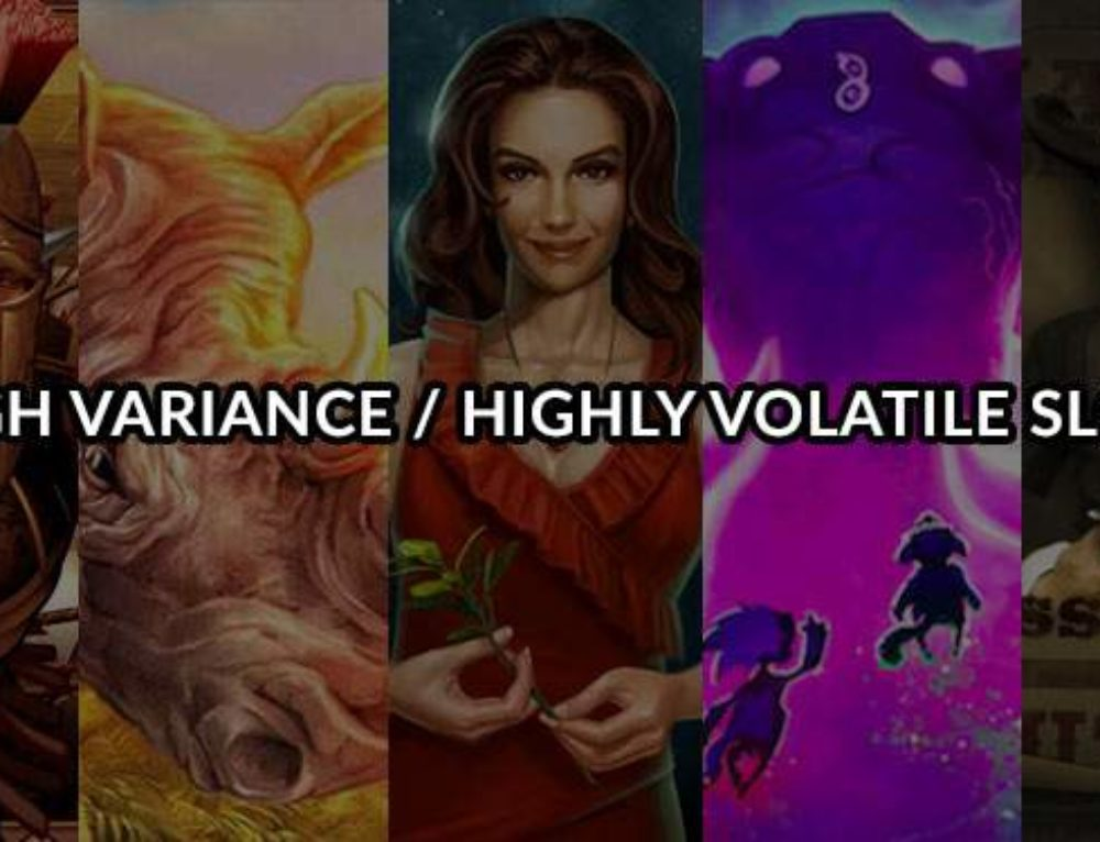 High variance casino slots