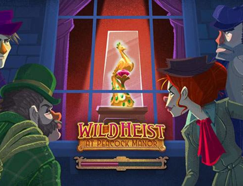 Spin that reel – Wild Heist at Peacock Manor slot review