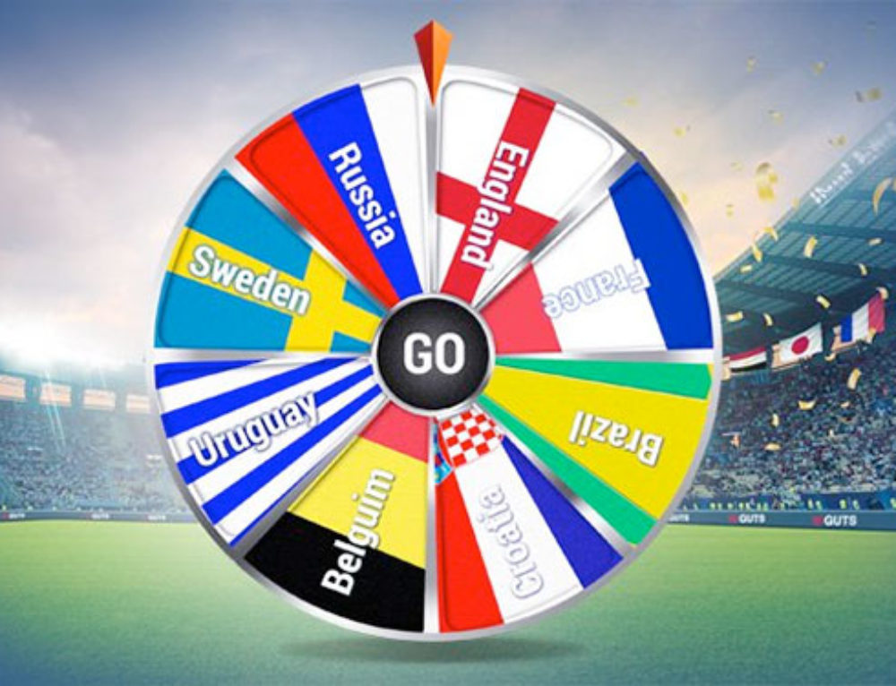 Spin n' Win with the World Cup at Guts Casino