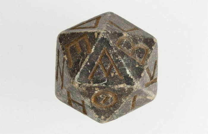 old dice from egypt