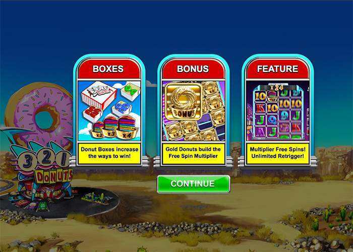 big time gaming donuts slot review