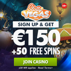welcome bonus at slotty vegas casino
