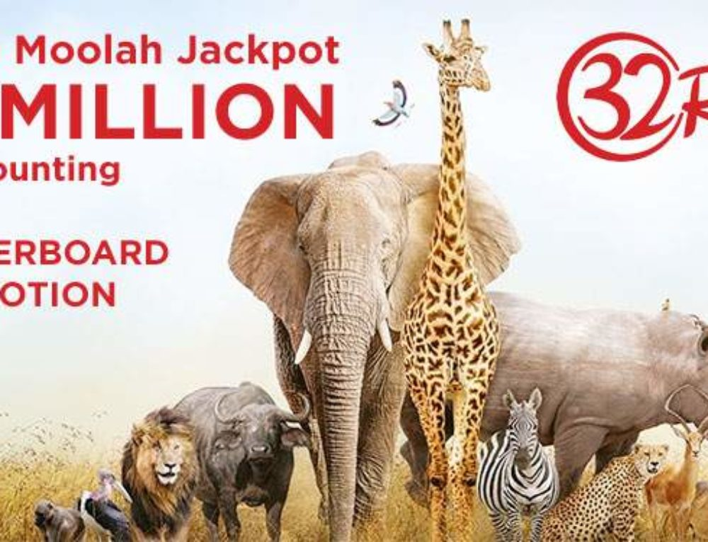 32Red launches special Mega Moolah Leaderboard promotion