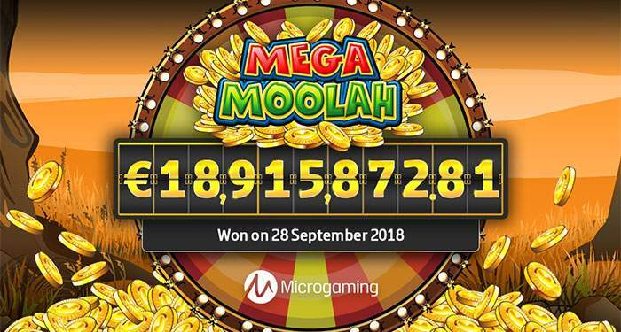 mega moolah jackpot september 2018