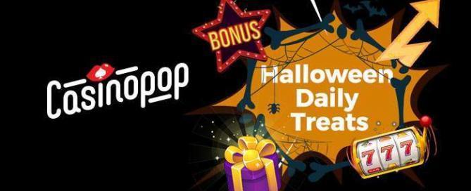 casinopop halloween free spins