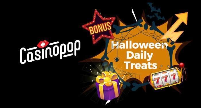 casinopop halloween free spins