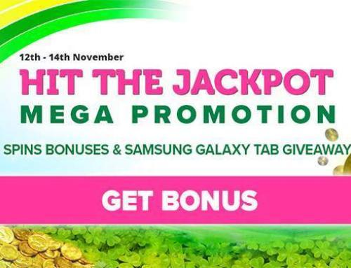 Hit the Jackpot Mega promotion at CasinoLuck