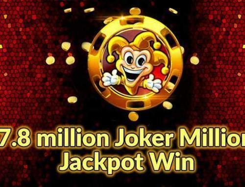 Massive 7.8 million win on Joker Millions slot at LeoVegas