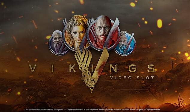 Vikings Casino Slot by Netent based on the successful TV series