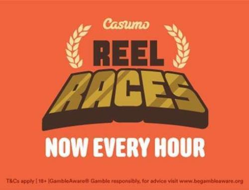 Casumo Reel Races: Now Every Hour!
