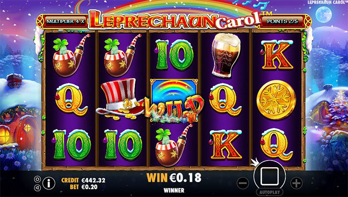 leprechaun carol casino slot game