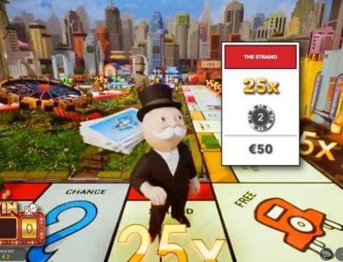 Monopoly Live by Evolution Gaming in Zusammenarbeit mit Hasbro