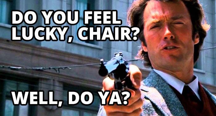 lucky chair online slot streamer meme