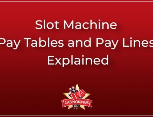 Spielautomaten-Gewinnlinien und Auszahlungstabellen erklärt