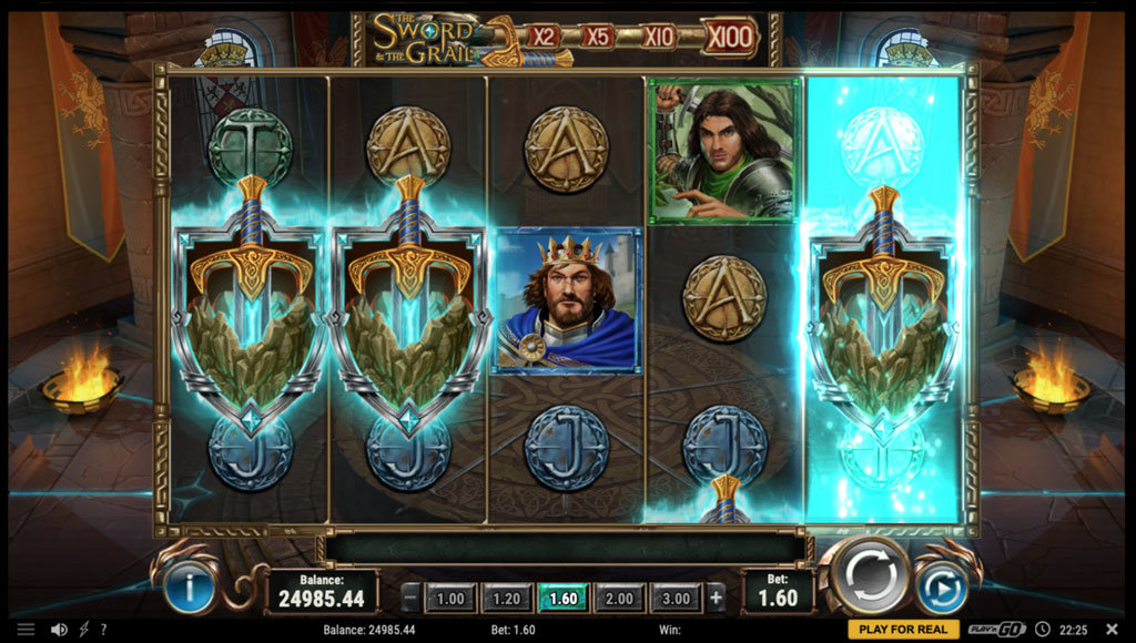 the sword and the grail slot free spins
