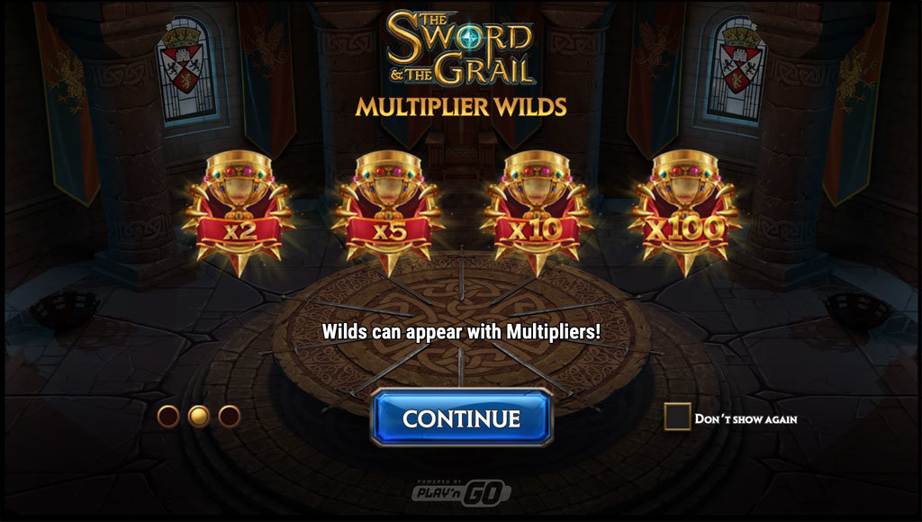 the sword and the grail multiplier
