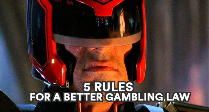 5 rules for better gambling regulations