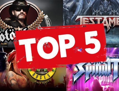 Top 5 rockin' casino slots